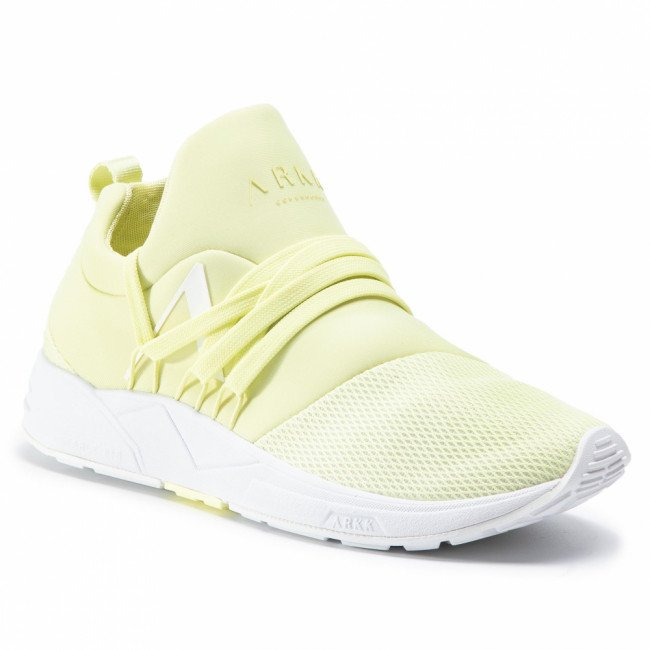 Sneakersy ARKK COPENHAGEN - Raven Mesh S-E15 CO1410-0016-W Yellow Glow/White