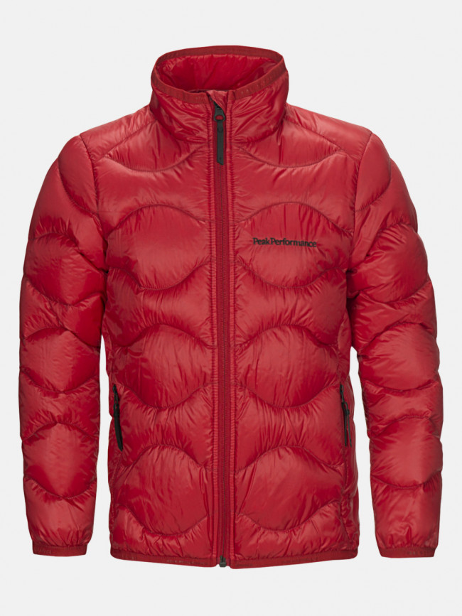 Bunda Peak Performance Jr Heliu J Active Ski Jacket - Červená