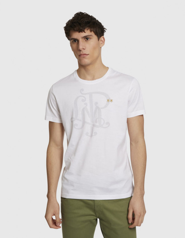 Tričko La Martina Man S/S Co Jersey T-Shirt