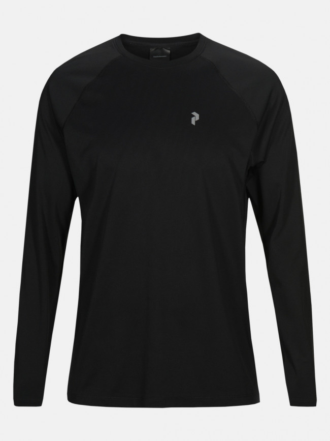 Tričko Peak Performance M Proco2 Long Sleeve - Čierna