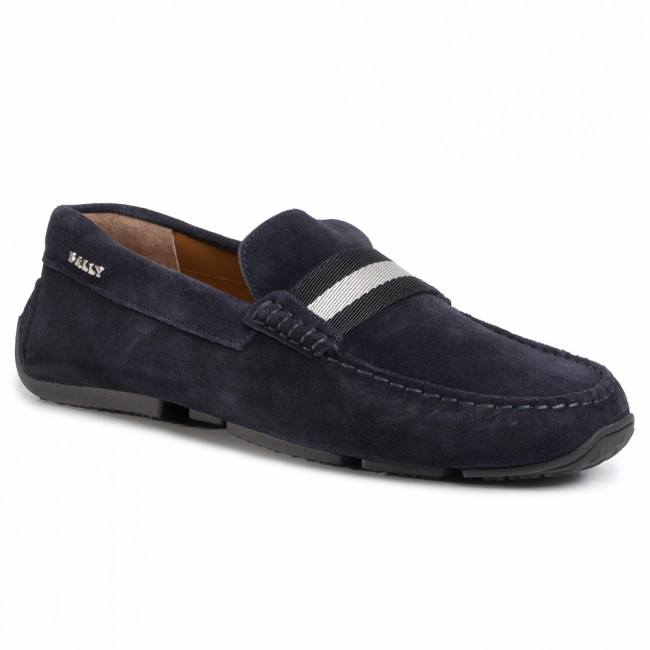 Mokasíny BALLY - Pearce 6206908 Blue Navy