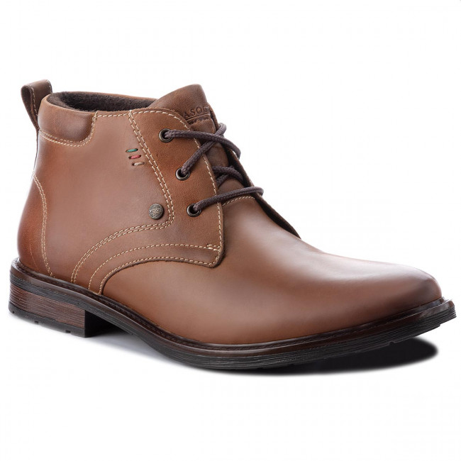 Outdoorová obuv LASOCKI FOR MEN - MB-MANAUS-15-22BIG Chocolate Brown