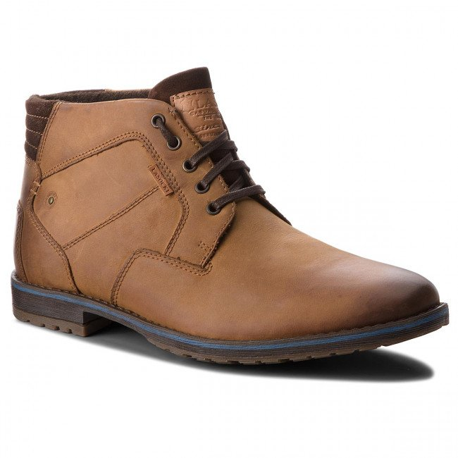 Outdoorová obuv LASOCKI FOR MEN - MB-BOR-01BIG Dk Brown
