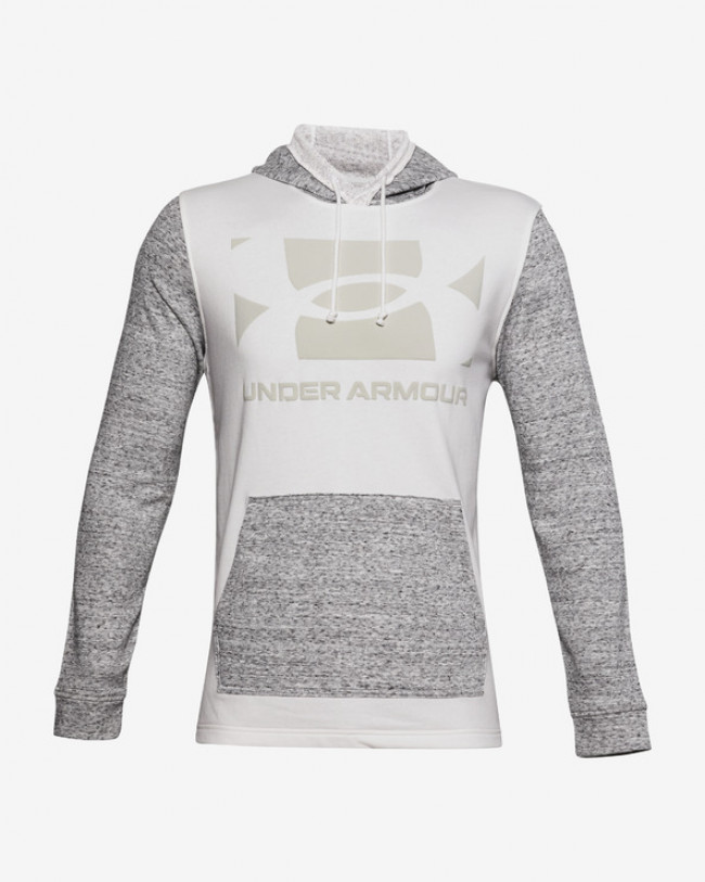 Under Armour Sportstyle Terry KO Mikina Šedá