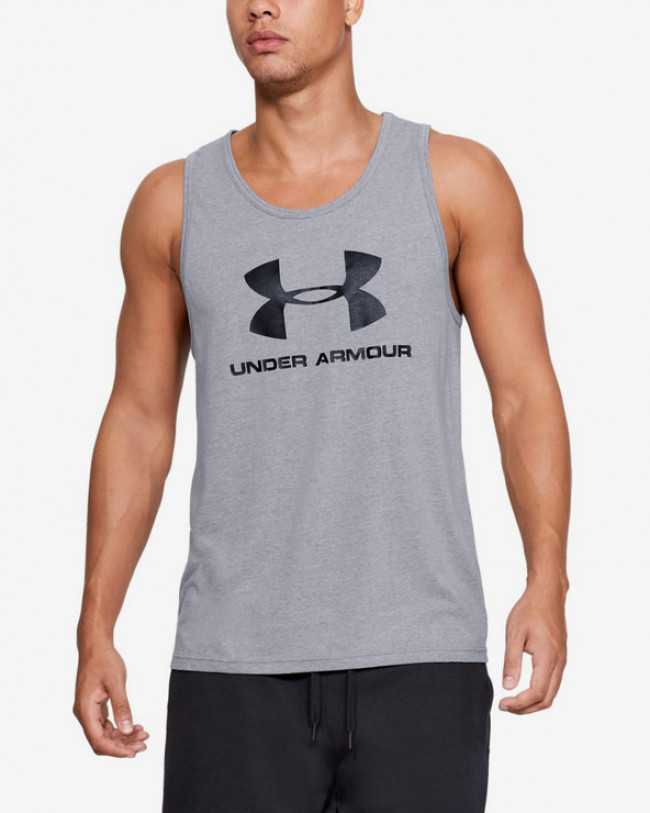 Under Armour Sportstyle Tielko Šedá