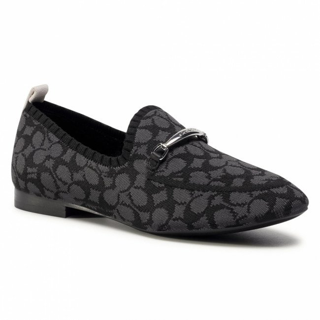 Poltopánky COACH - Harling Knit Loafer G5149 11002151 Black BLK
