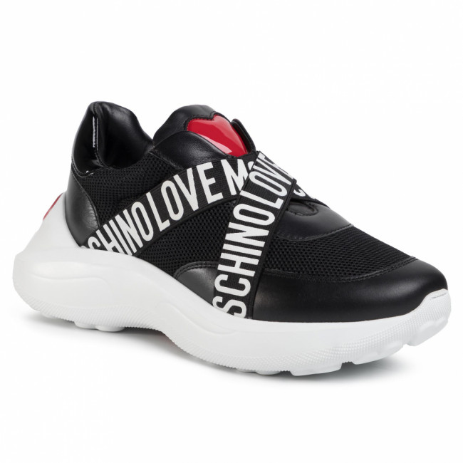 Sneakersy LOVE MOSCHINO - JA15166G1BIN000A Nero