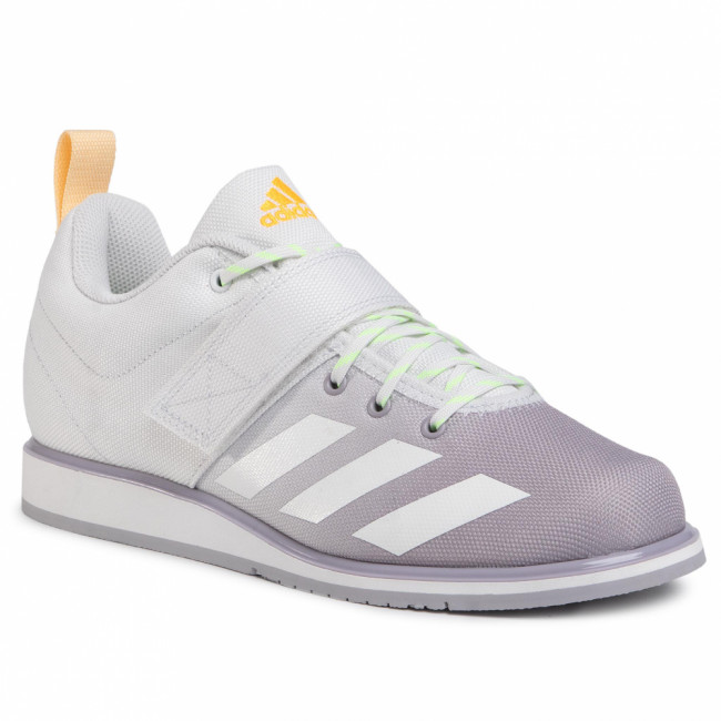 Topánky adidas - Powerlift 4 FU8166 Crystal White/Crystal White/Signal Green