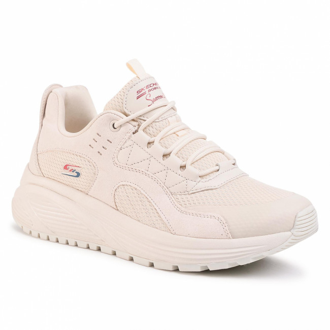Sneakersy SKECHERS - BOBS SPORT Urban Sounds 117017/NAT Natural