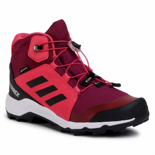 Topánky adidas - Terrex Mid Gtx K GORE-TEX FW9758  Power Berry/Core Black/Power Pink