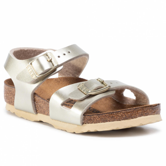 Sandále BIRKENSTOCK - Rio Kids 1014829 Electric Metallic Gold