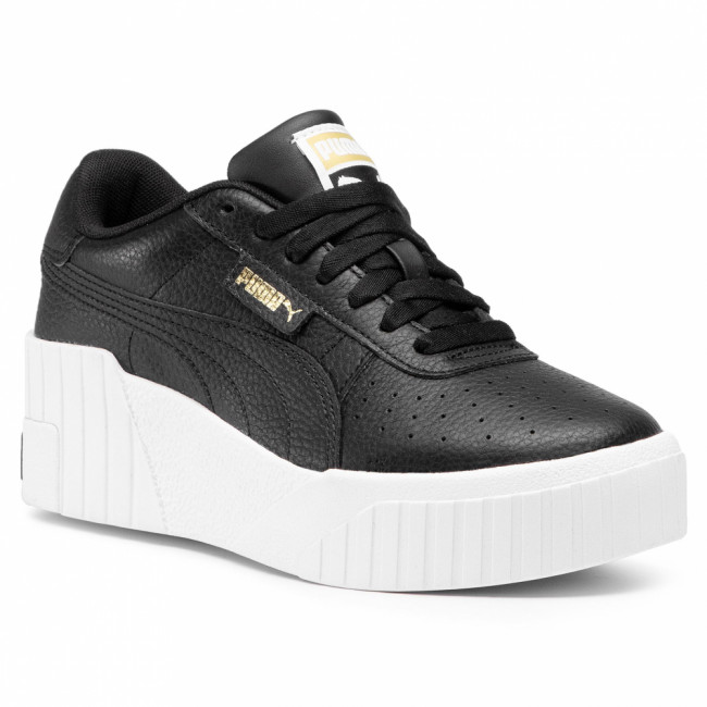 Sneakersy PUMA - Cali Wedge 373438 02 Puma Black/Puma White