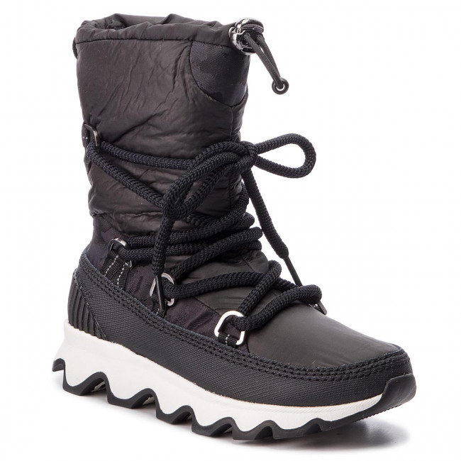 Snehule SOREL - Kinetic Boot NL3101 Black/White 010