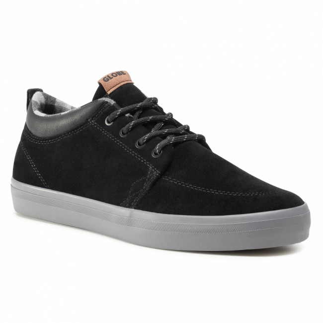 Tenisky GLOBE - Gs Chukka  Black/Charcoal/Plaid 20509