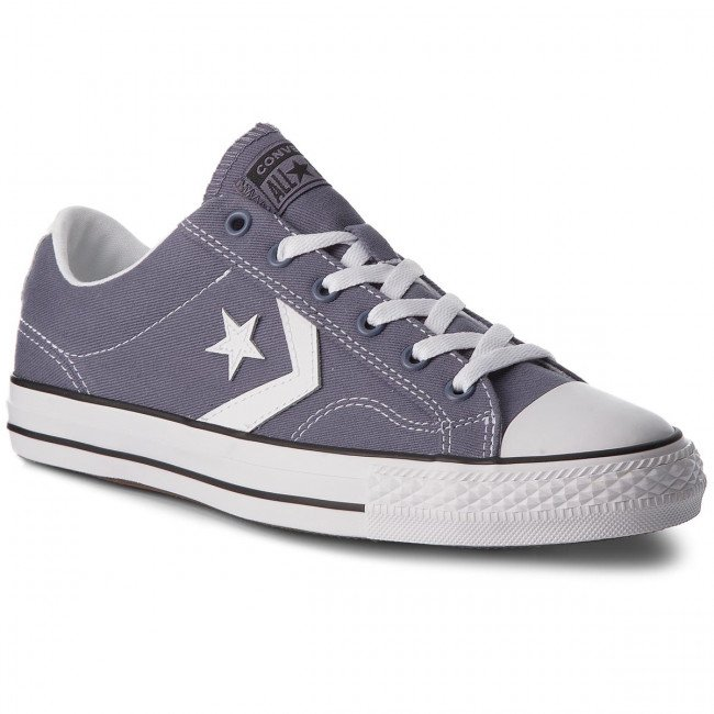 Tramky CONVERSE - Star Player Ox 160557C Light Carbon/White/Black