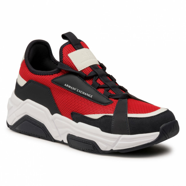 Sneakersy ARMANI EXCHANGE - XUX065 XV259 D286 Red Rubin/Navy