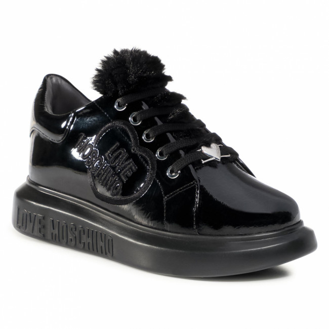 Sneakersy LOVE MOSCHINO - JA15534G0BJGF000 Nero