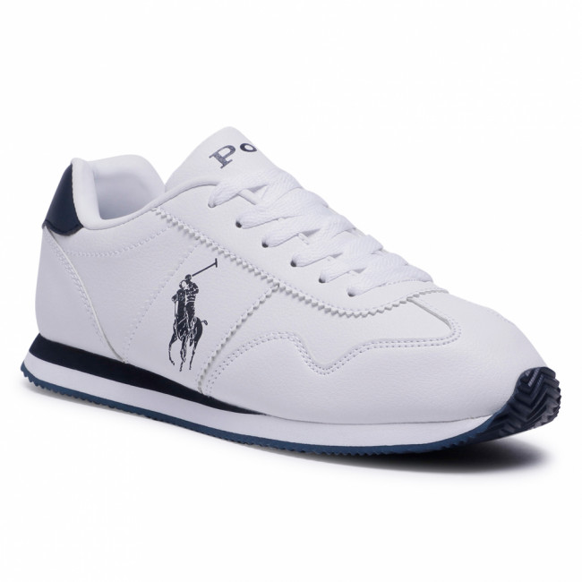 Sneakersy POLO RALPH LAUREN - Big Pony Jogger RF102689 White/Navy