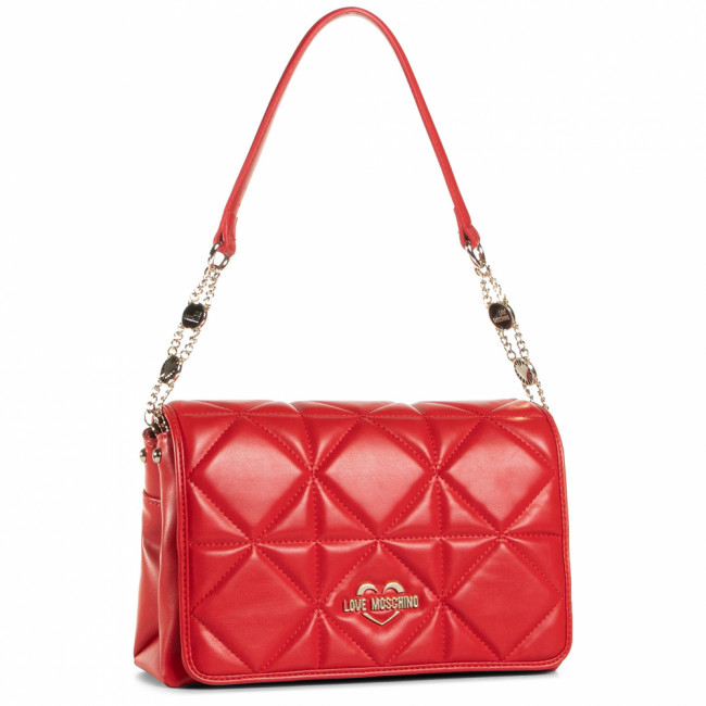 Kabelka LOVE MOSCHINO - JC4211PP0BKB0500 Rosso