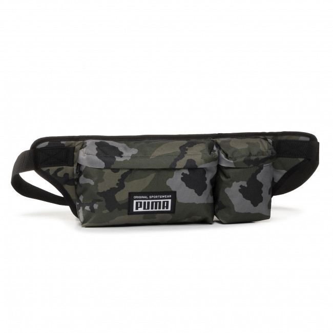 ľadvinka PUMA - Academy Multi Waist Bag 077303 04 Forest Night/Camo Aop