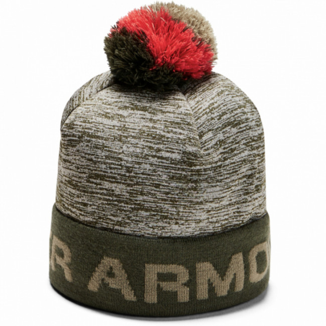Čiapka Under Armour Boy\'S Gametime Pom Beanie-Grn
