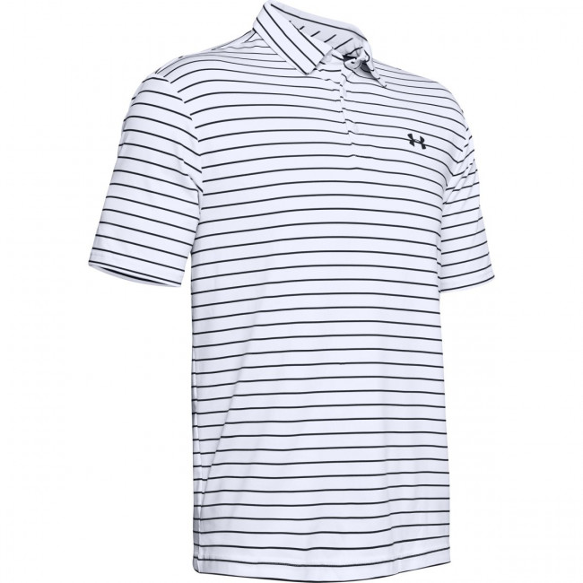 Tričko Under Armour Playoff Polo 2.0-WHT