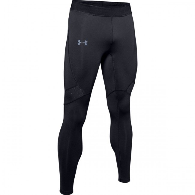Kompresné legíny Under Armour Qualifier Coldgear Tight-Blk