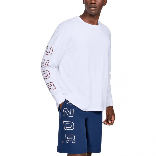 Tričko Under Armour MOMENTS LS TEE-WHT