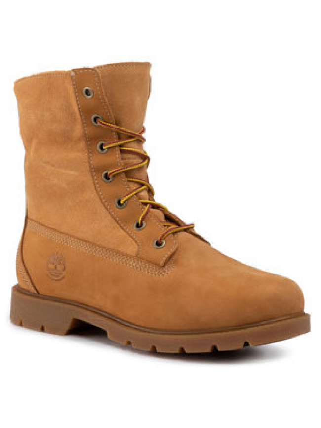 Timberland Outdoorová obuv Linden Woods Wp Fleece Fold Down TB0A1KGC231 Hnedá