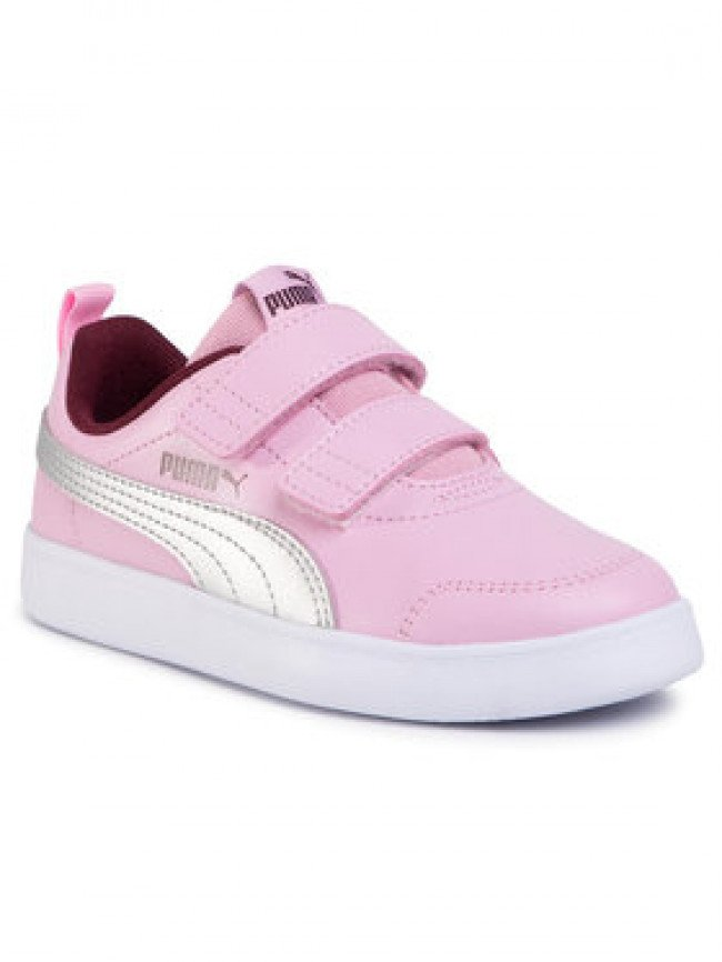 Puma Sneakersy Courtflex V2 V Ps 371543 10 Ružová