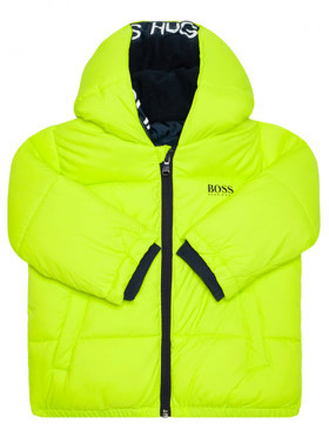 Boss Vatovaná bunda J26417 D Zelená Regular Fit