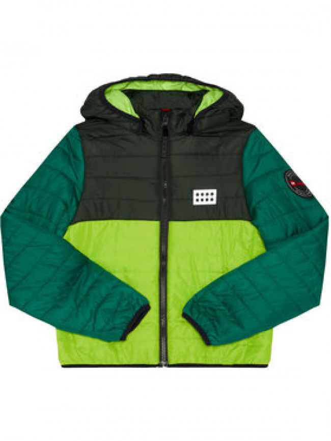LEGO Wear Vatovaná bunda LwJoshua 606 22922 Zelená Regular Fit