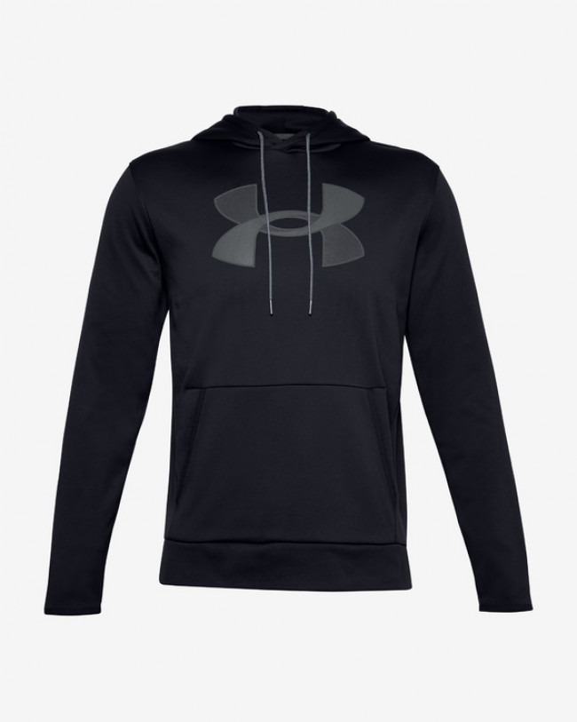 Under Armour Armour Fleece® Big Logo Mikina Čierna
