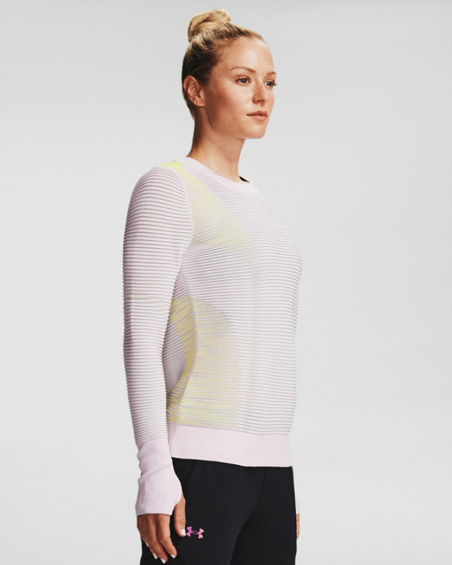 Under Armour IntelliKnit Phantom 2.0 Mikina Fialová