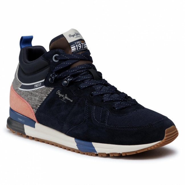 Sneakersy PEPE JEANS - PMS30663 Navy 595
