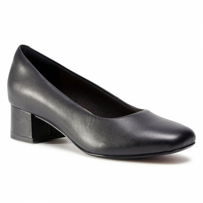 Poltopánky CLARKS - Marilyn Leah 261534144  Black Leather