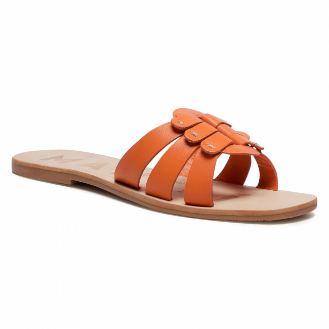 Šľapky MANEBI - Sandals S 5.3 Y0 O Buckle Orange