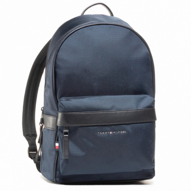 Ruksak TOMMY HILFIGER - Elevated Nylon Backpack AM0AM06468 BLU