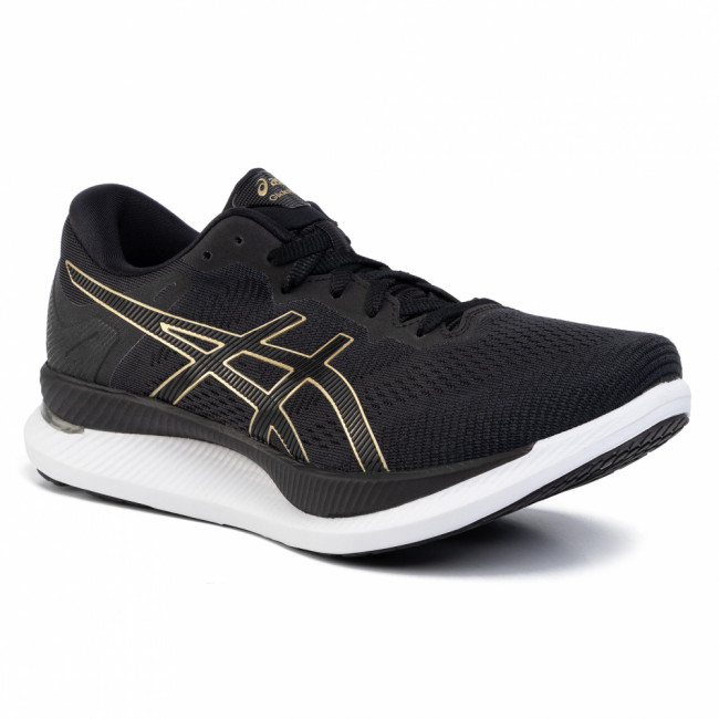 Topánky ASICS - GlideRide 1011A817 Black/Pure Gold 001