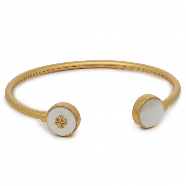Náramok TORY BURCH - Kira 74072 Rolled Brass/Mother Of Pearl 200