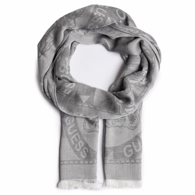 Šál GUESS - Not Coordinated Scarves AM8663 MOD03 GRY