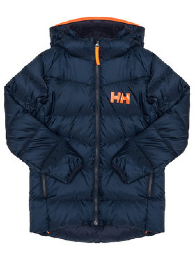 Helly Hansen Vatovaná bunda Junior Isf Jord Down Mix 41612 Tmavomodrá Regular Fit