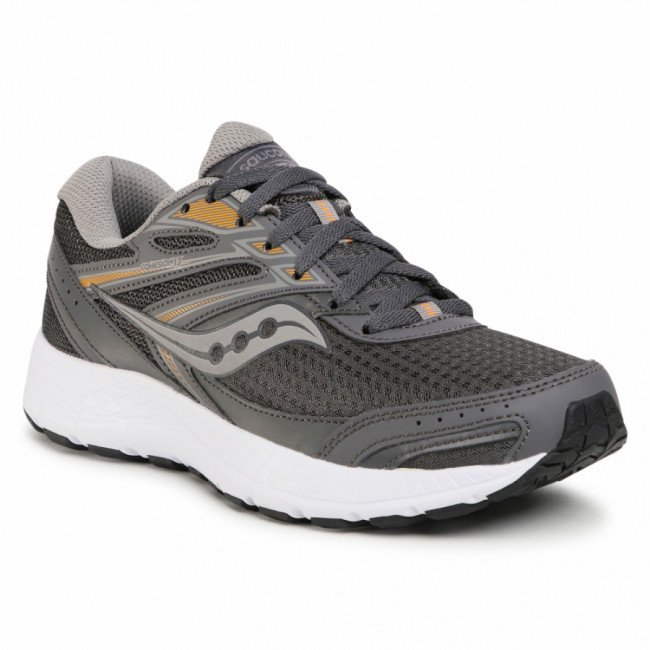 Topánky SAUCONY - Cohesion 13 S20559-3 Drk Gry/Org