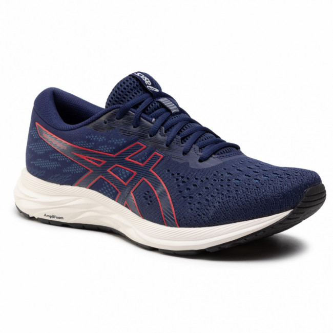 Topánky ASICS - Gel-Excite 7 1011A657 Peacoat/Classic Red 401