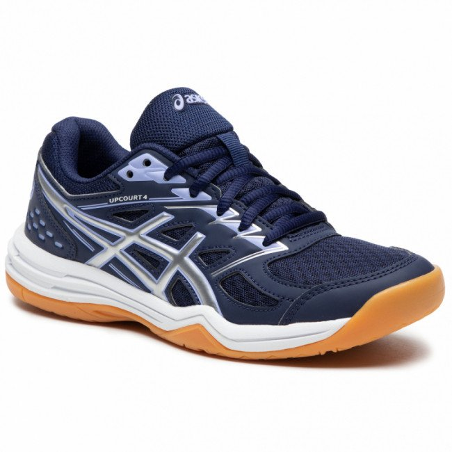 Topánky ASICS - Upcourt 4 1072A055 Peacoat/Pure Silver 400