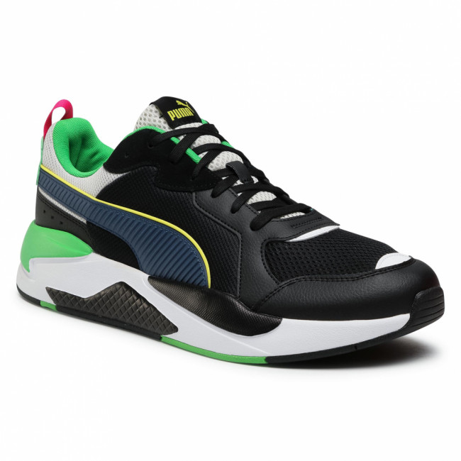 Sneakersy PUMA - X-Ray 372602 06 Black/Dk Denim/Gray/C Green
