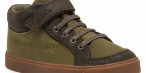 Sneakersy CLARKS - City Hop K 261515317 Olive