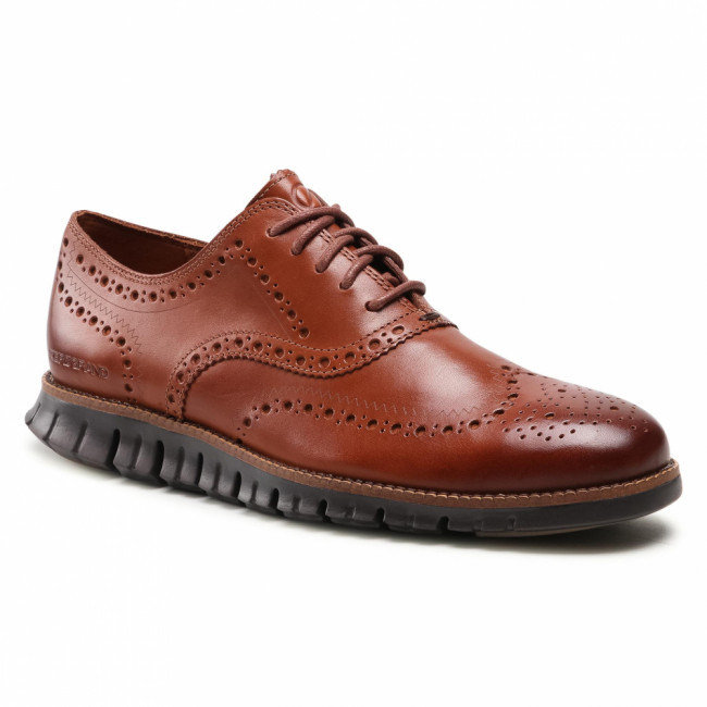 Poltopánky COLE HAAN - Zerogrand Wing Ox C29411 British Tan/Java