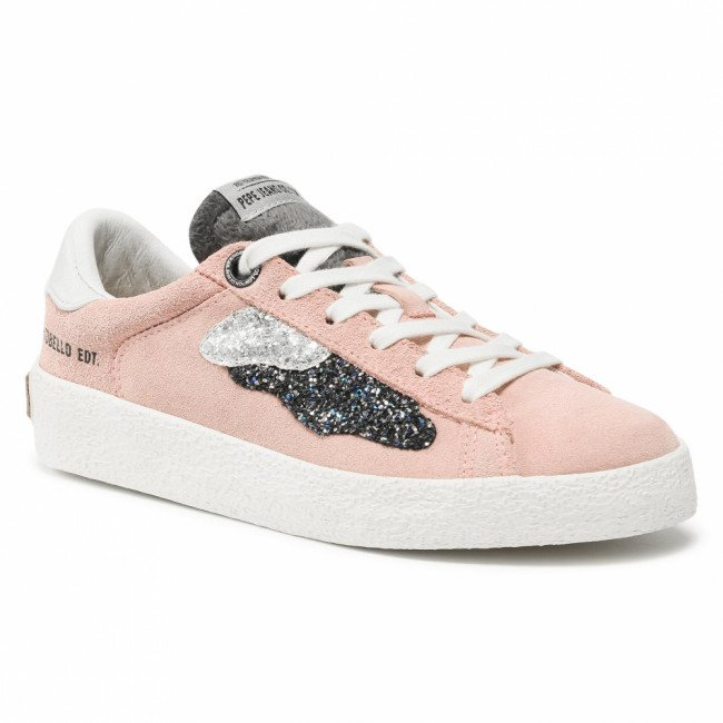 Sneakersy PEPE JEANS - Portobello Edt PGS30324  Washed Pink 316
