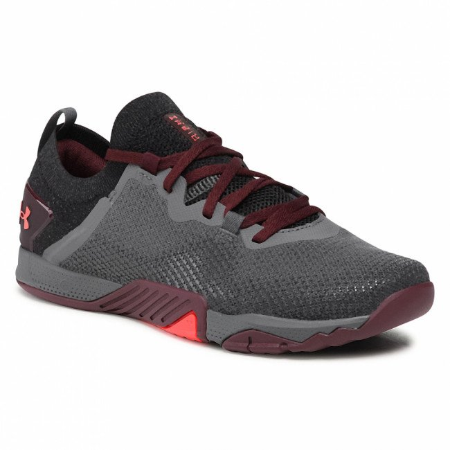 Topánky UNDER ARMOUR - Ua Tribase Reign 3 3023698-101 Gry